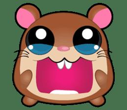 Boola, the happy hamster sticker #603700