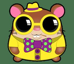 Boola, the happy hamster sticker #603701