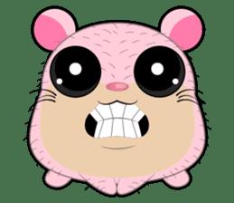 Boola, the happy hamster sticker #603704