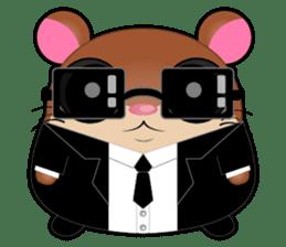 Boola, the happy hamster sticker #603706