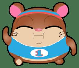 Boola, the happy hamster sticker #603707