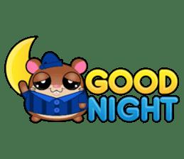 Boola, the happy hamster sticker #603712