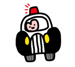 A strange living thing sticker #604052