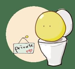 Mr. & Mrs. Yellow 3 sticker #604910