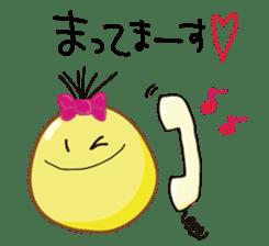 Mr. & Mrs. Yellow 3 sticker #604926