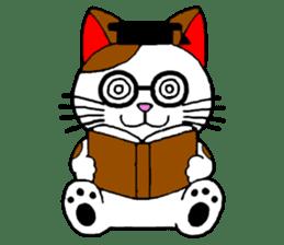 Maneki kun and his friends sticker #605893