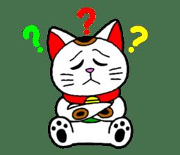 Maneki kun and his friends sticker #605895