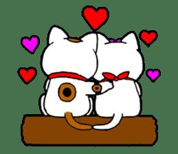 Maneki kun and his friends sticker #605909