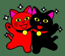 Maneki kun and his friends sticker #605913