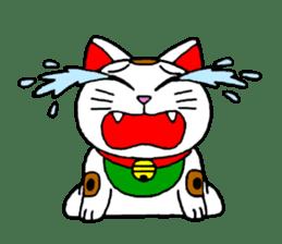 Maneki kun and his friends sticker #605914