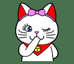 Maneki kun and his friends sticker #605918