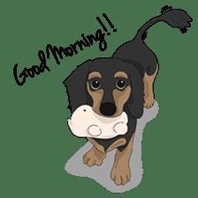 Cute Dachshund Ryu!! sticker #606322