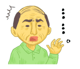 Mr. Sato is a gentleman. sticker #606506