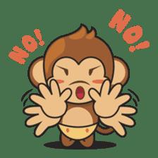 Chiki, the cutest monkey alive! sticker #606854
