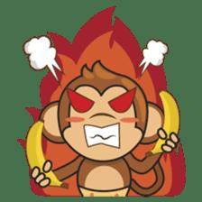 Chiki, the cutest monkey alive! sticker #606860