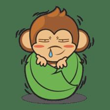 Chiki, the cutest monkey alive! sticker #606866