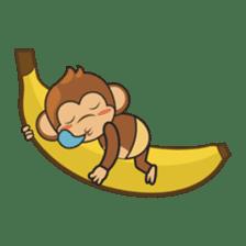 Chiki, the cutest monkey alive! sticker #606869