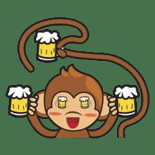 Chiki, the cutest monkey alive! sticker #606878