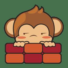 Chiki, the cutest monkey alive! sticker #606880
