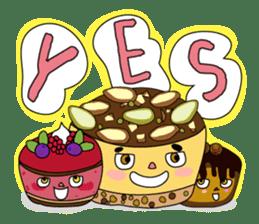 "Piece of ""CAKE"" sticker #606965"