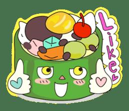 "Piece of ""CAKE"" sticker #606967"