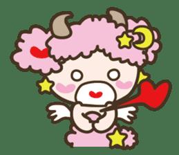 APPLE & SHEEP Fairies DREAMLAND sticker #607045