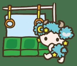 APPLE & SHEEP Fairies DREAMLAND sticker #607057
