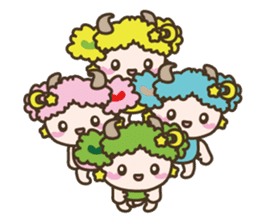 APPLE & SHEEP Fairies DREAMLAND sticker #607060