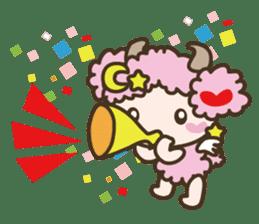 APPLE & SHEEP Fairies DREAMLAND sticker #607072