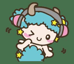 APPLE & SHEEP Fairies DREAMLAND sticker #607081