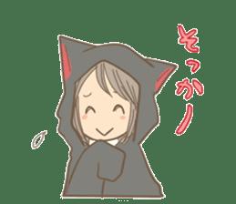 cat parka sticker #607431