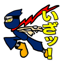 SAMURAI x NINJA Stickers sticker #607457