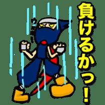 SAMURAI x NINJA Stickers sticker #607460