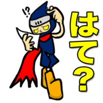 SAMURAI x NINJA Stickers sticker #607463