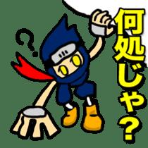 SAMURAI x NINJA Stickers sticker #607464