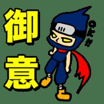 SAMURAI x NINJA Stickers sticker #607469