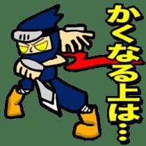 SAMURAI x NINJA Stickers sticker #607471