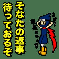 SAMURAI x NINJA Stickers sticker #607472
