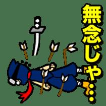 SAMURAI x NINJA Stickers sticker #607473
