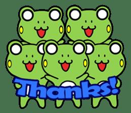 Tree Frog 2nd sticker #607805