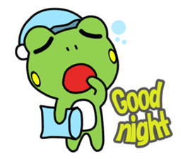Tree Frog 2nd sticker #607834