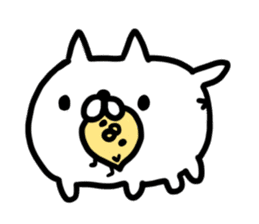 Cat sticker #608533