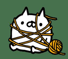Cat sticker #608553