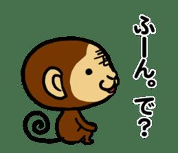 Malicious Monkey sticker #608738