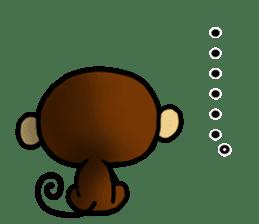 Malicious Monkey sticker #608760
