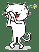 Very white cat sticker #608810