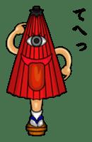 YAWKWAI - Japanese specter sticker #609083