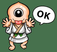 YAWKWAI - Japanese specter sticker #609085