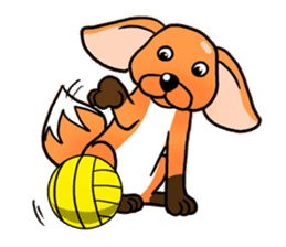 Foxie sticker #609619