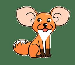 Foxie sticker #609636